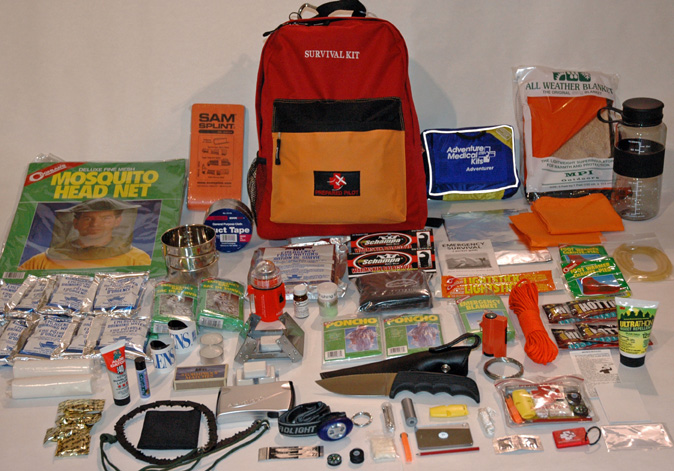 Complete survival first aid kit 2014