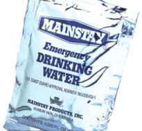 Emergency Water Packets
