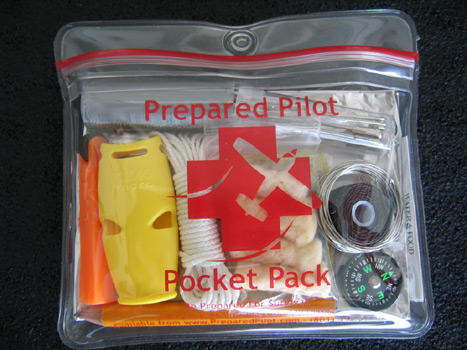 Prepared Pilot Pocket Pack